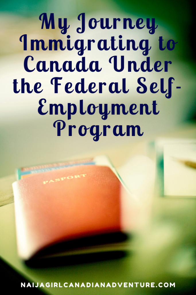 Canadian Federal Federal Self-Employment Entry Success Story