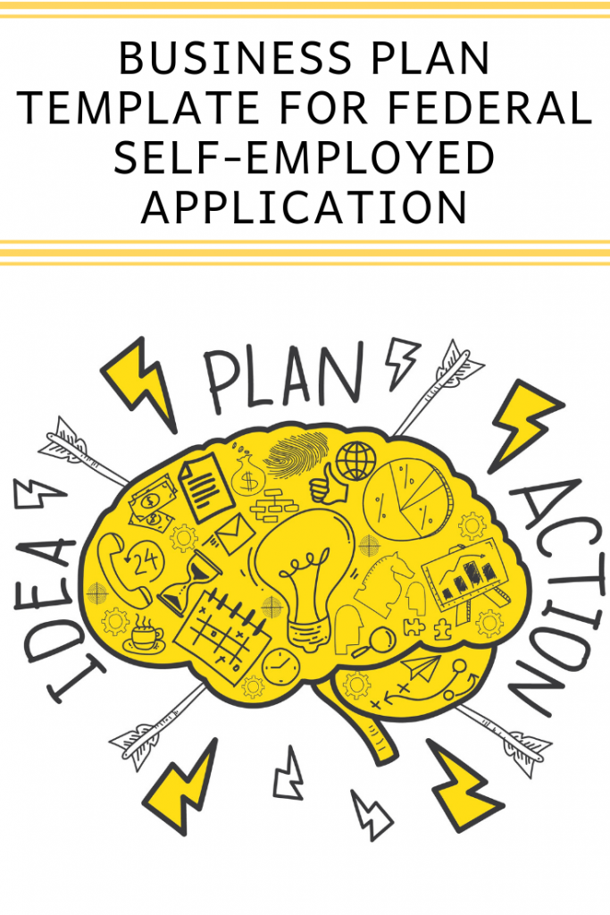 Business plan template for Canadian federal self-employed application