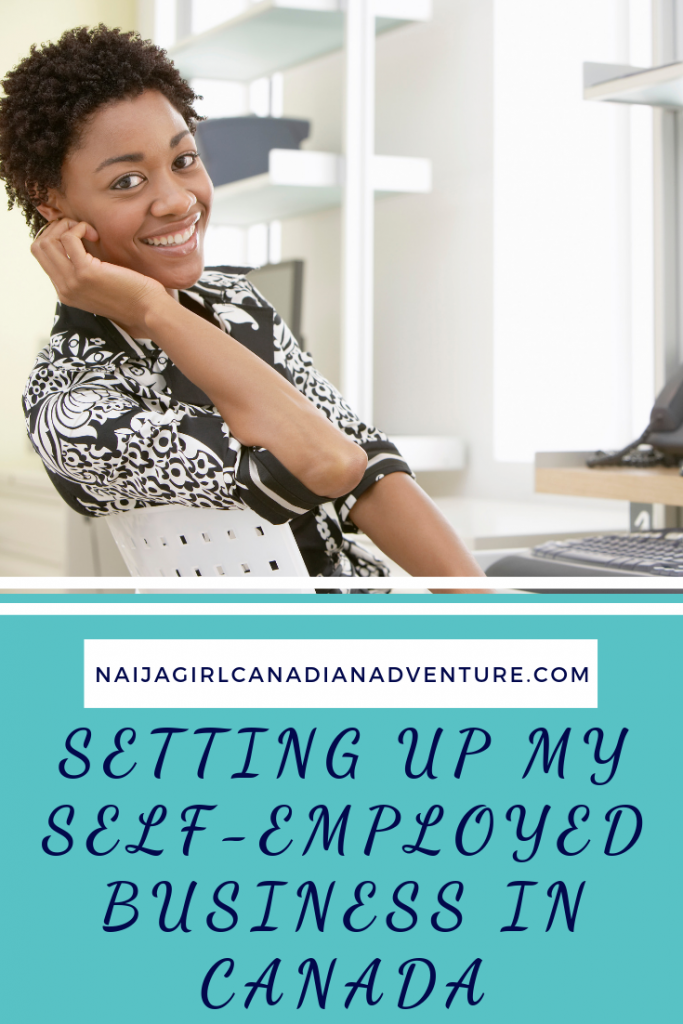 Setting Up My Self-Employed Business in Canada