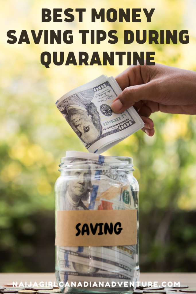 Best money saving tips during quarantine