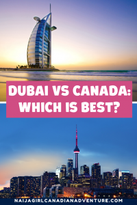Dubai vs Canada, which is best for a self employed person