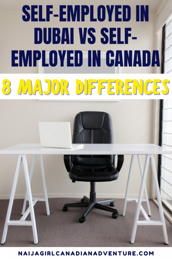 Self-Employed-in-Dubai-vs-Self-Employed-in-Canada-8-Major-Differences